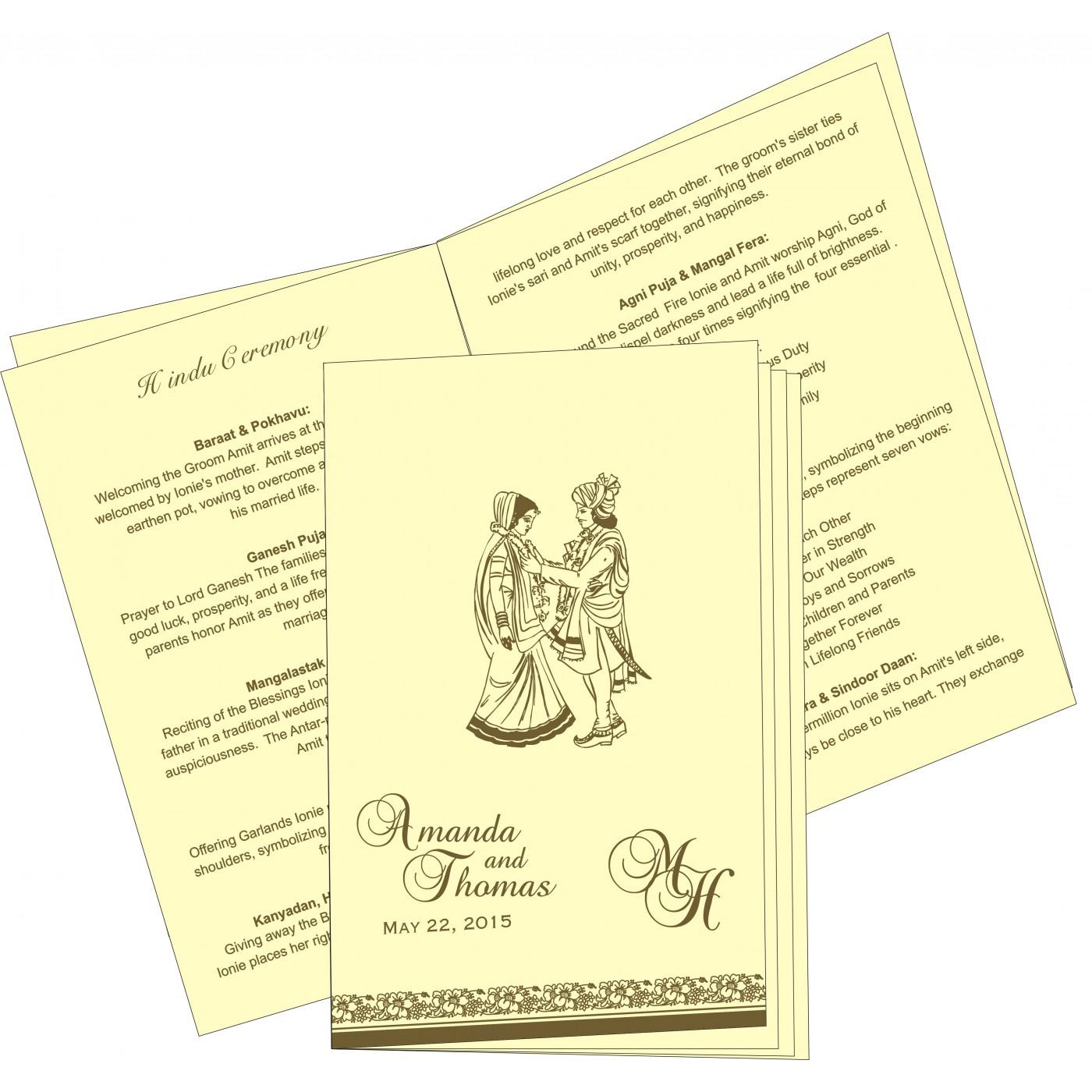 Program Booklet - PC-8207H