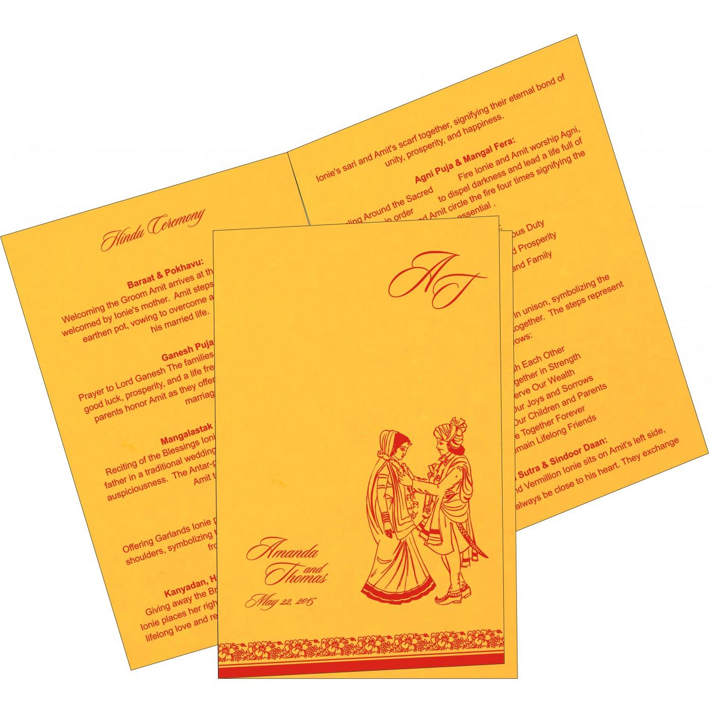 Program Booklet - PC-8207O