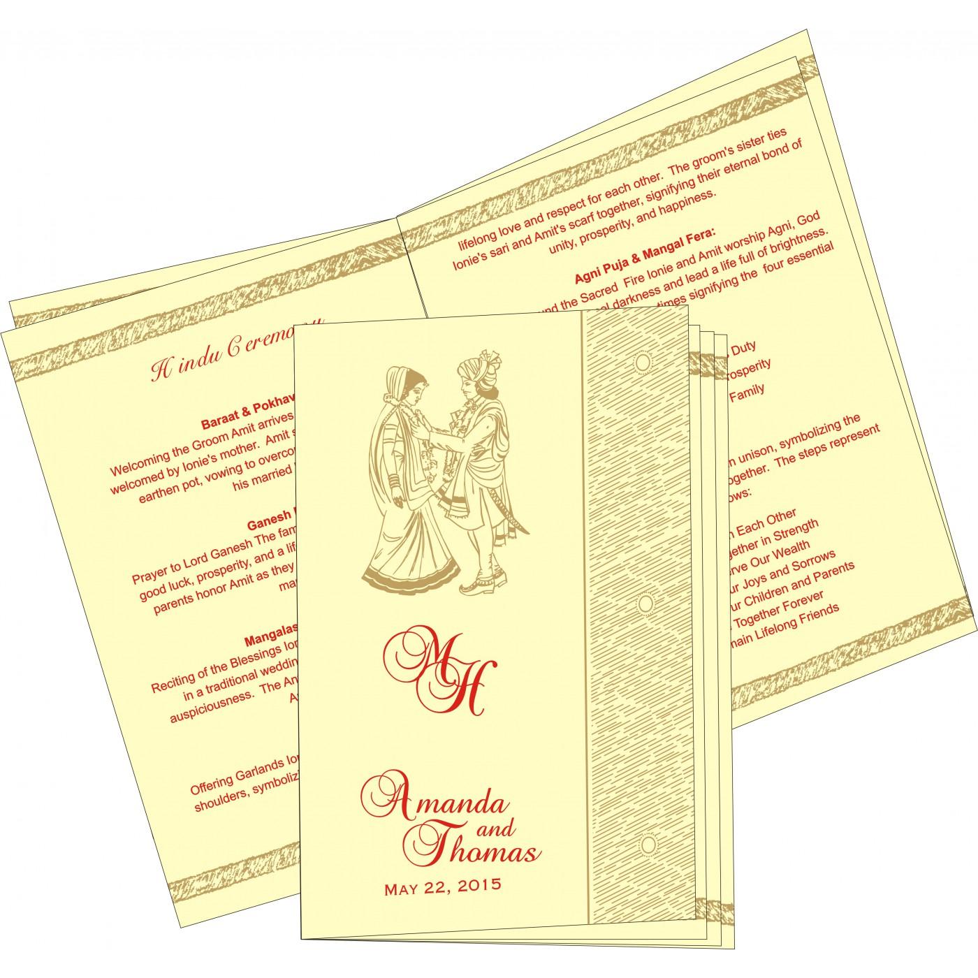 Program Booklet - PC-8209I