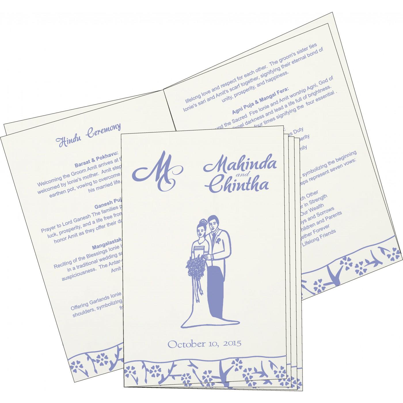 Program Booklet - PC-8216Q
