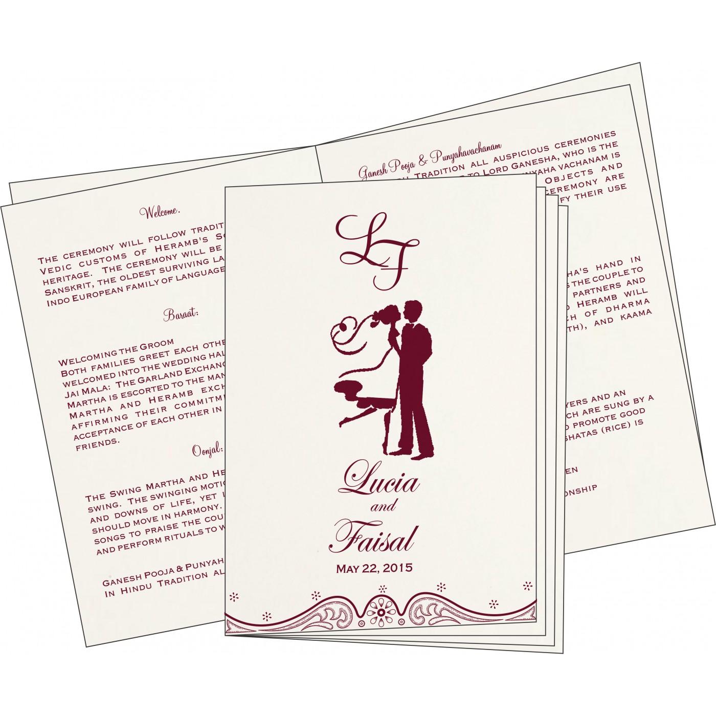 Program Booklet - PC-8221H