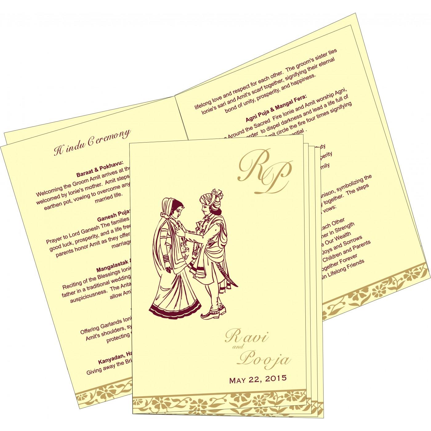 Program Booklet - PC-8222F