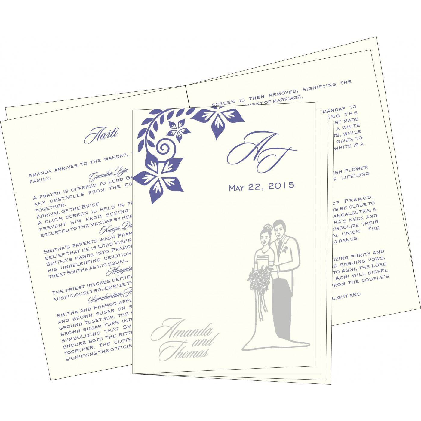 Program Booklet - PC-8240B