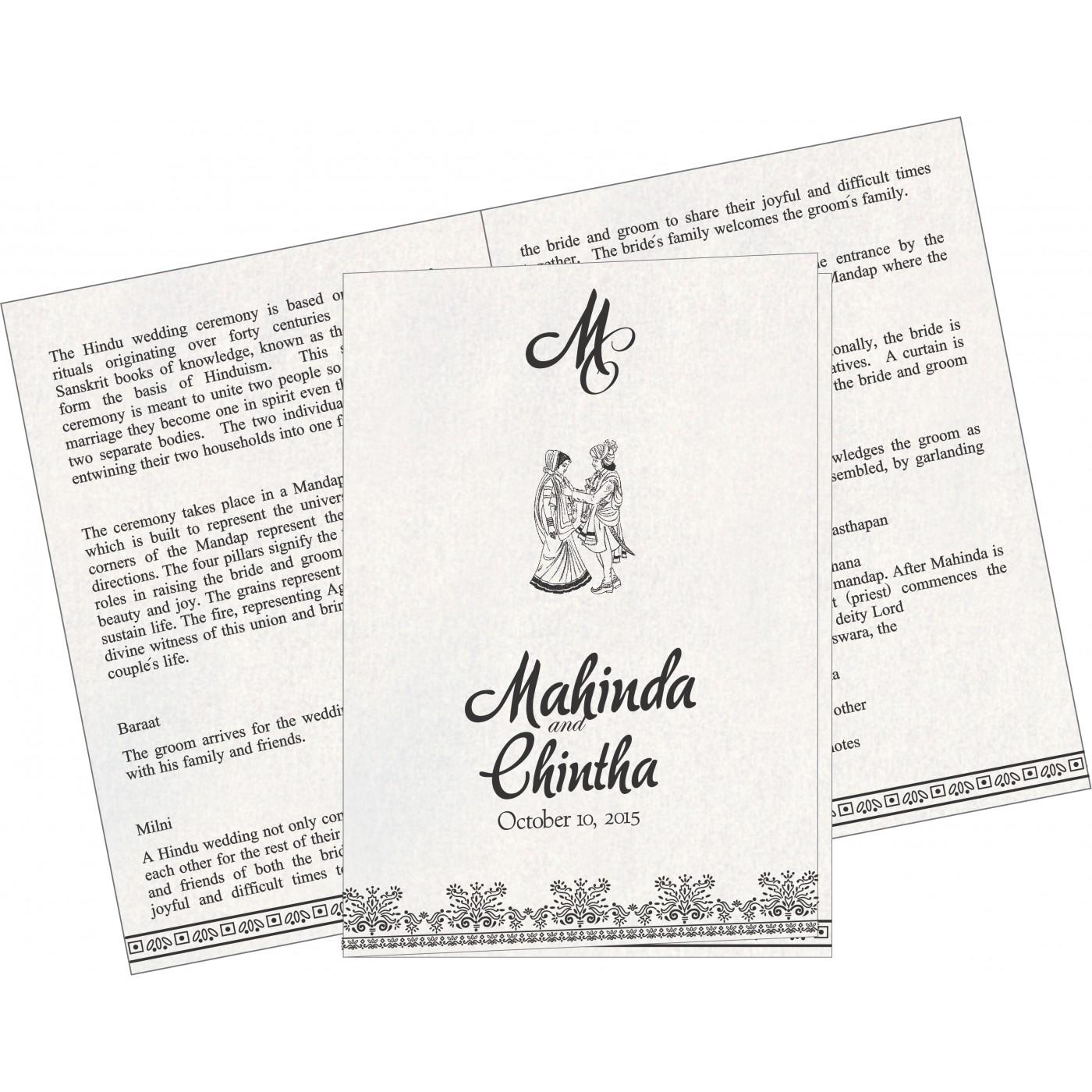 Program Booklet - PC-8241O