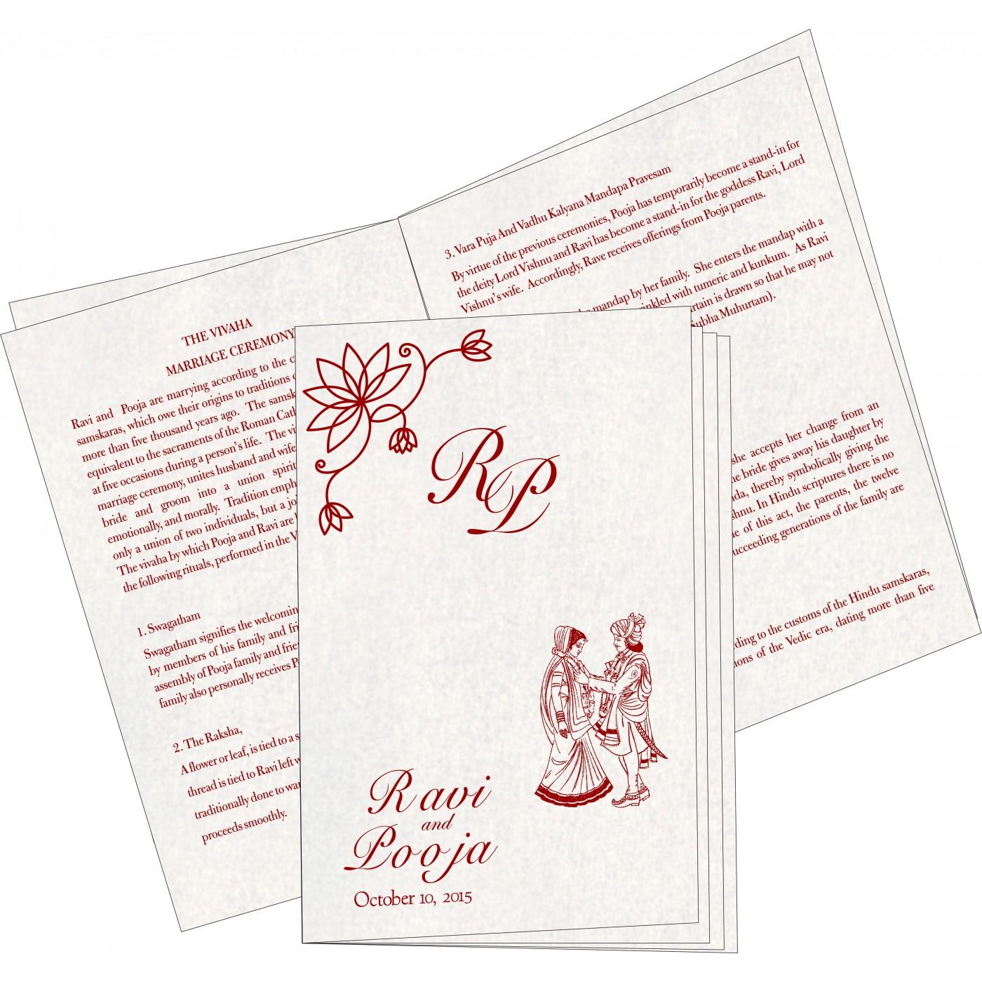 Program Booklet - PC-8251L