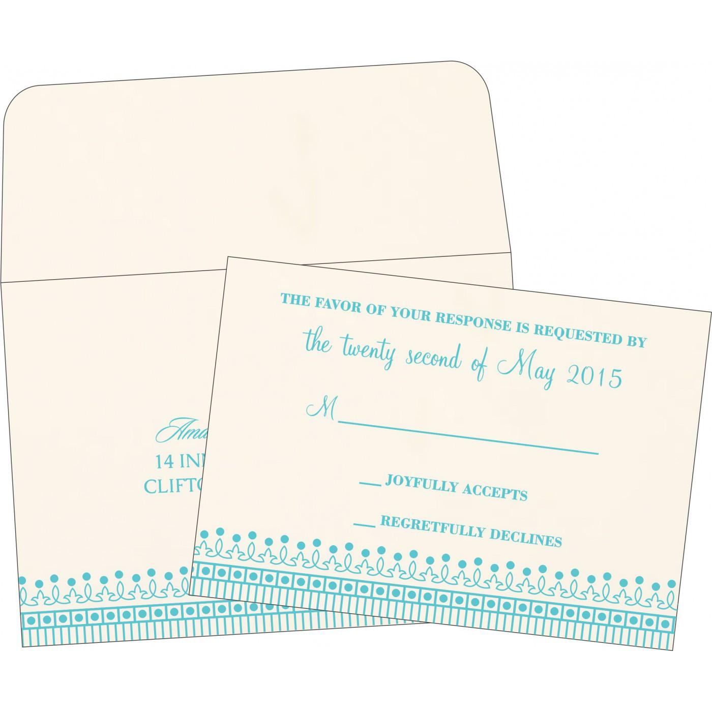 RSVP Cards - RSVP-1338