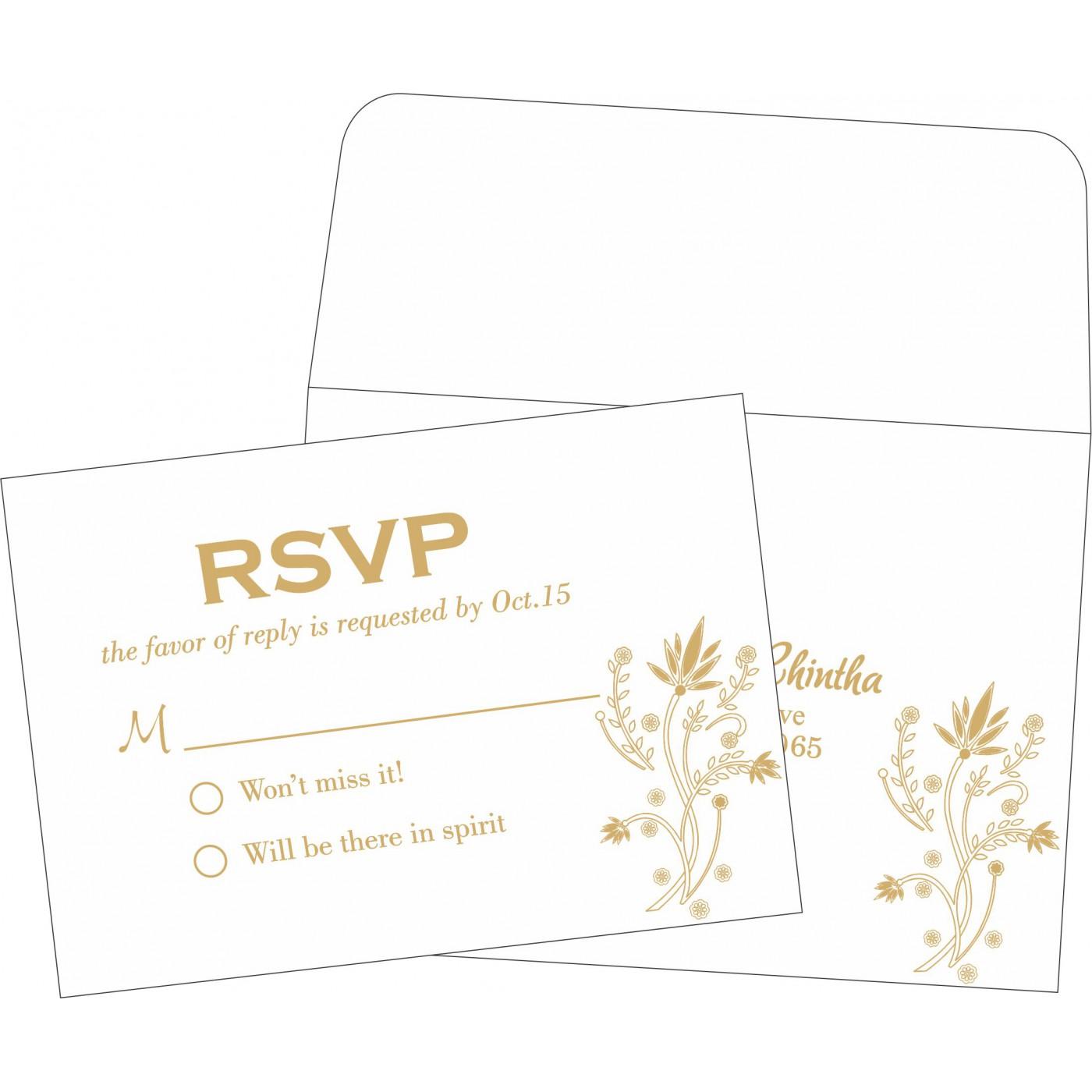RSVP Cards - RSVP-1495