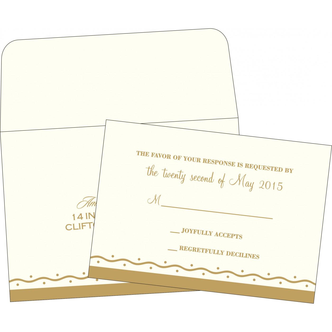 RSVP Cards - RSVP-2103