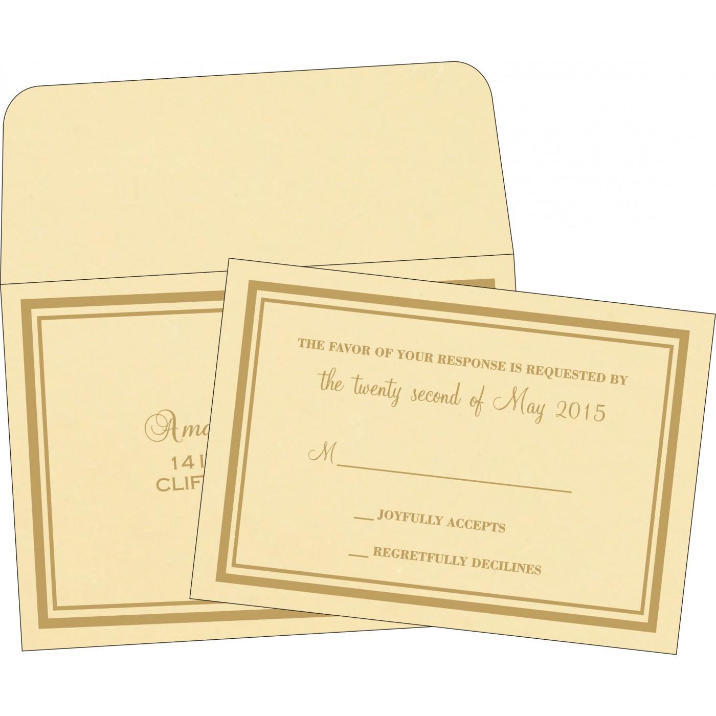 RSVP Cards - RSVP-2177