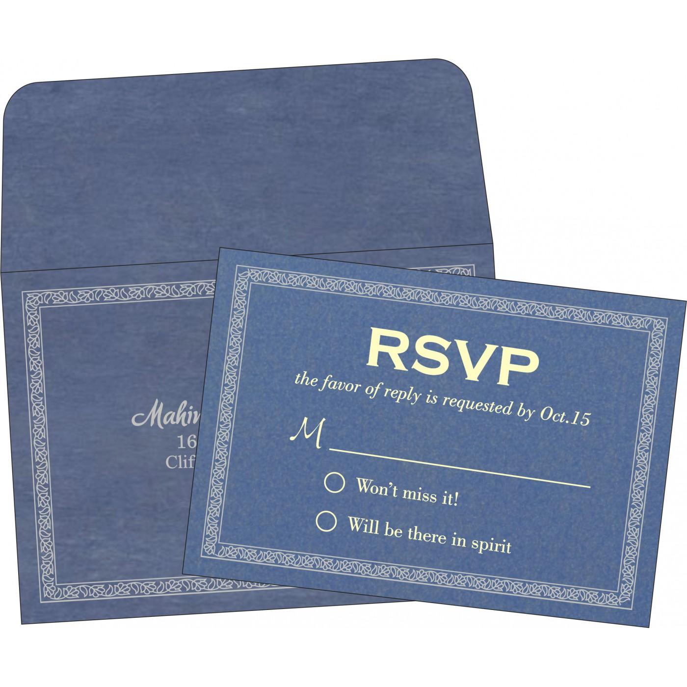 RSVP Cards - RSVP-8211P