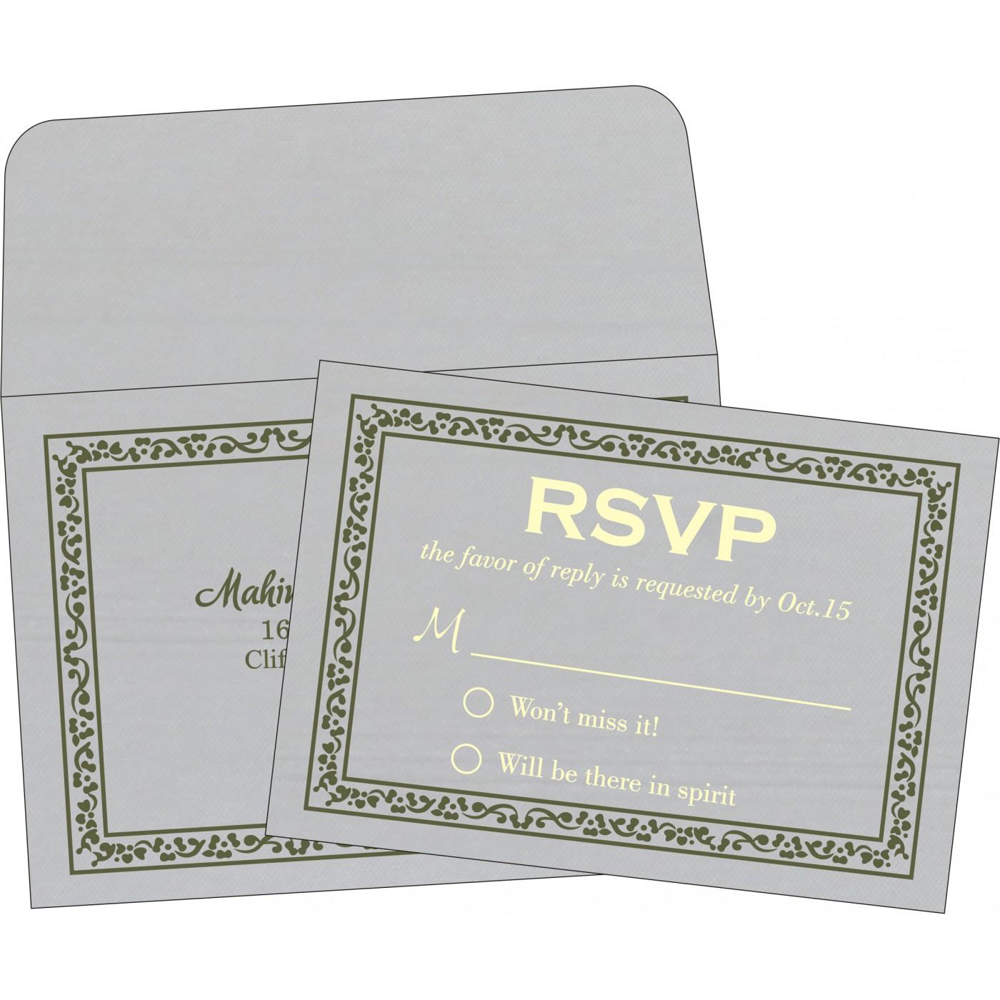 RSVP Cards - RSVP-8214L