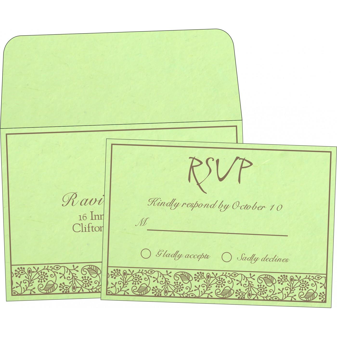 RSVP Cards - RSVP-8215D