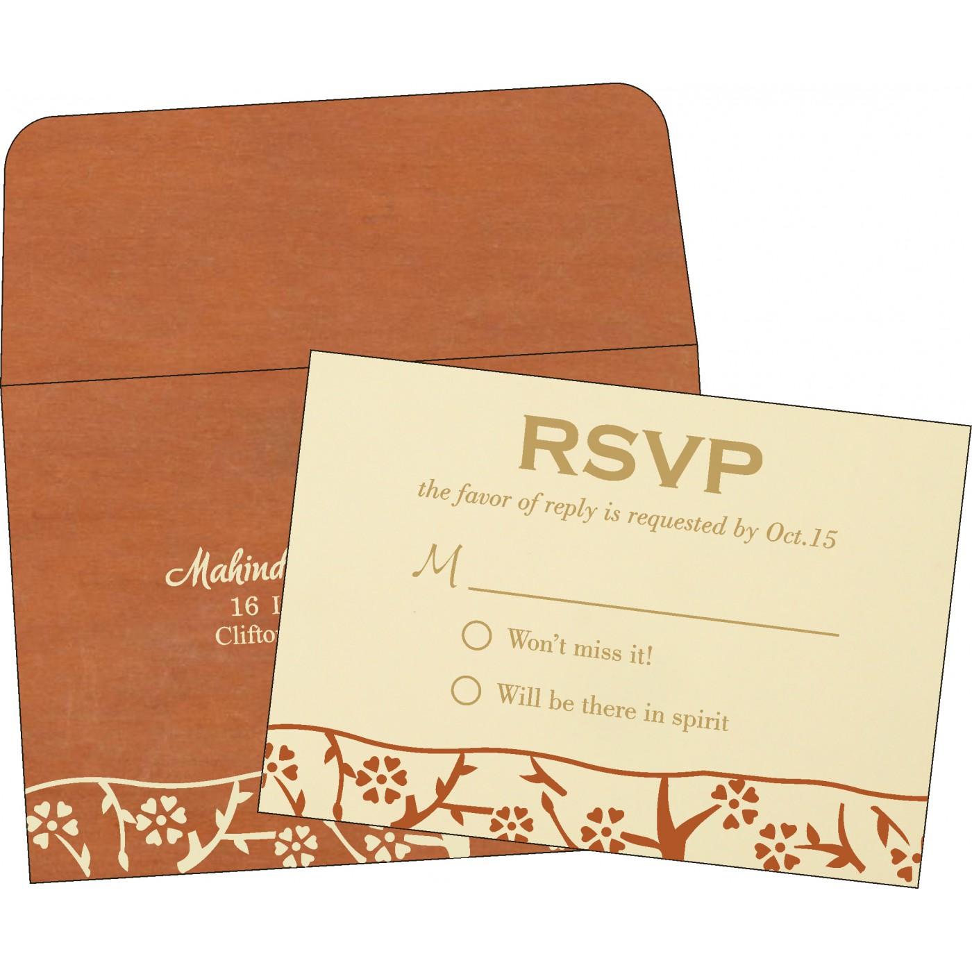 RSVP Cards - RSVP-8216E