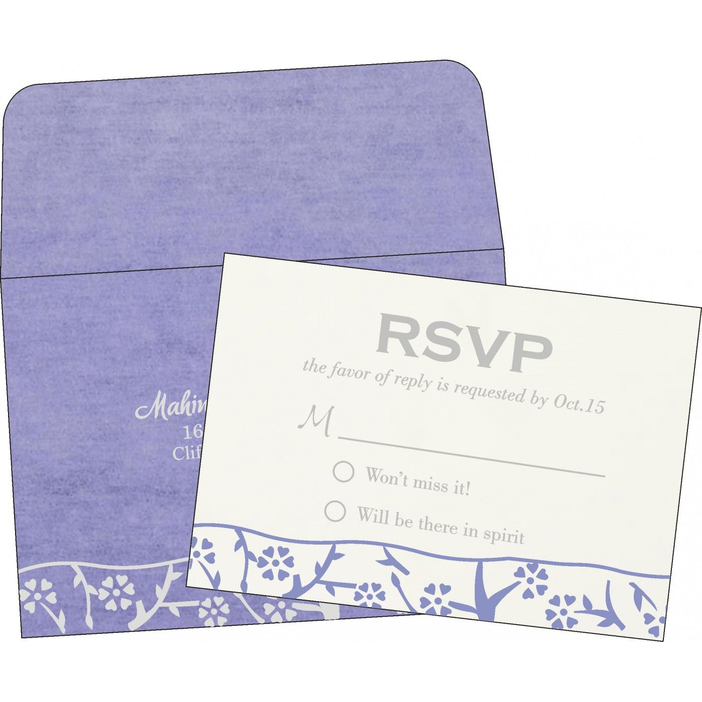 RSVP Cards - RSVP-8216Q