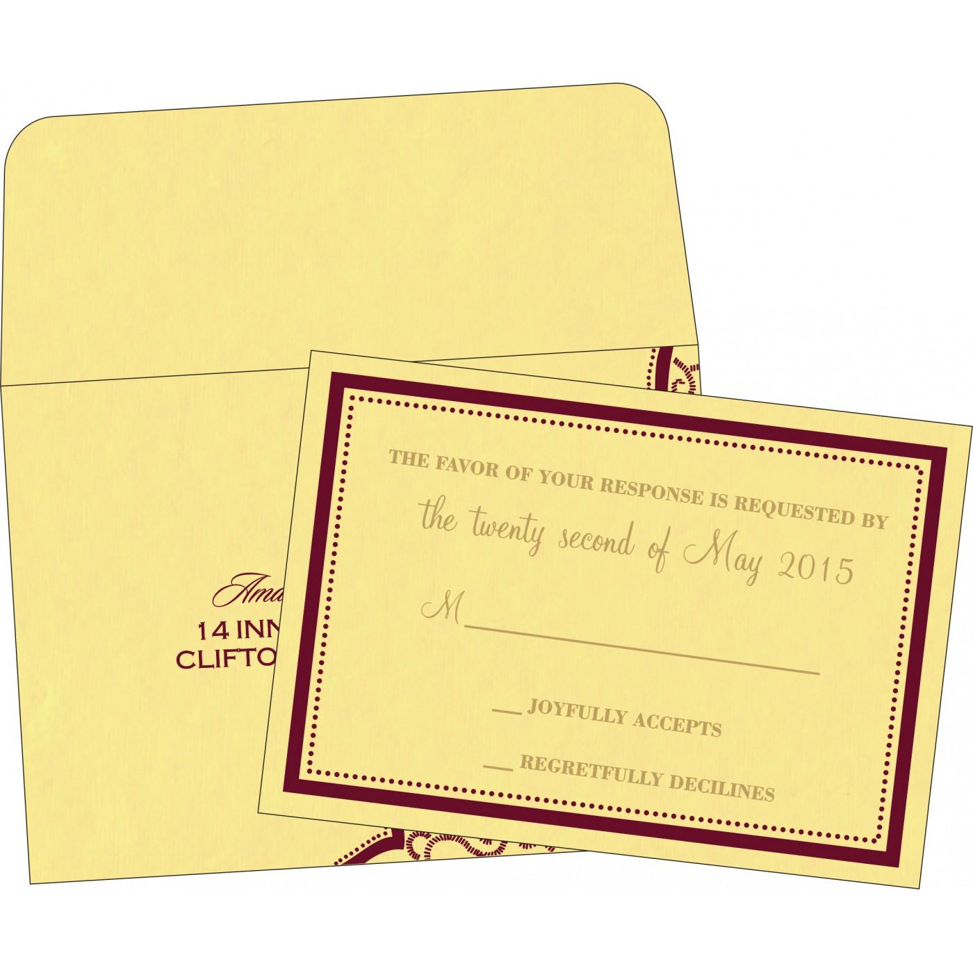 RSVP Cards - RSVP-8219G