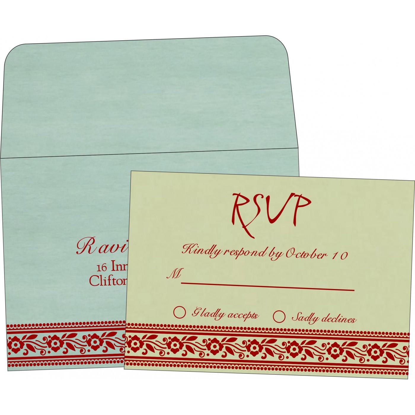 RSVP Cards - RSVP-8220G