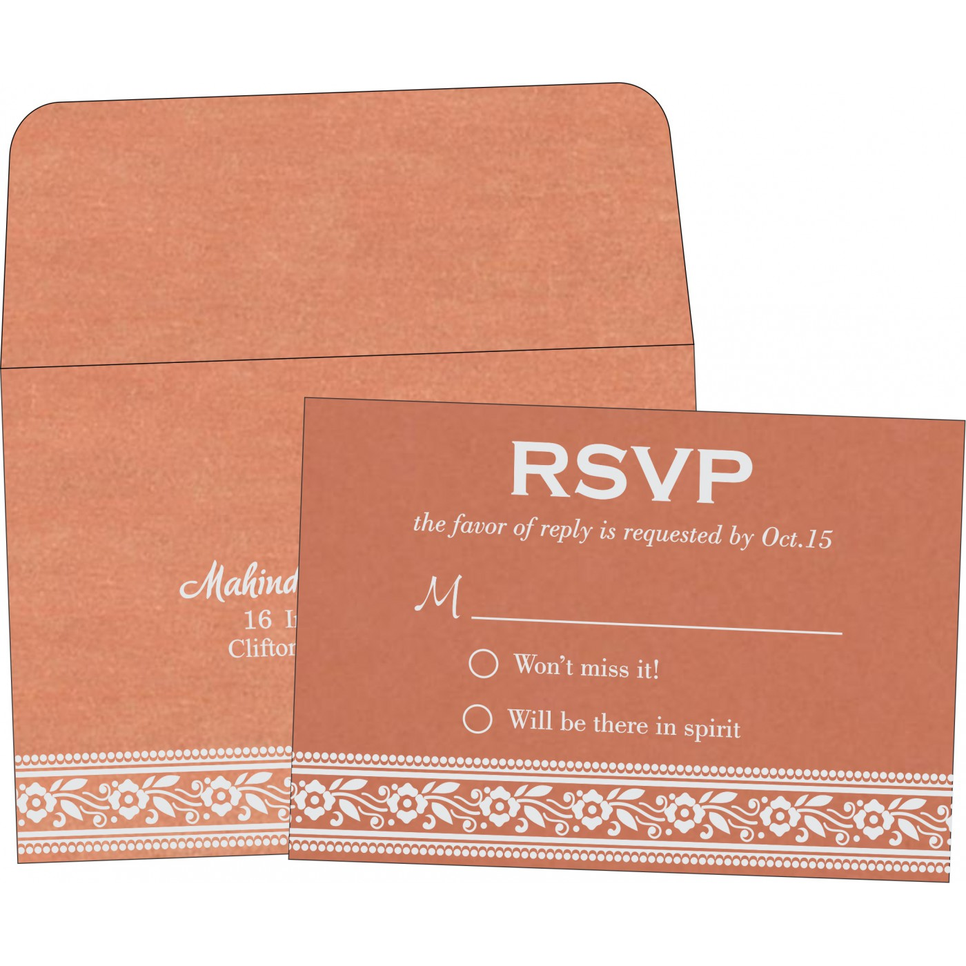 RSVP Cards - RSVP-8220H