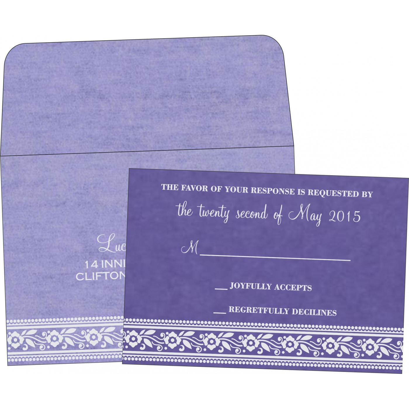 RSVP Cards - RSVP-8220P