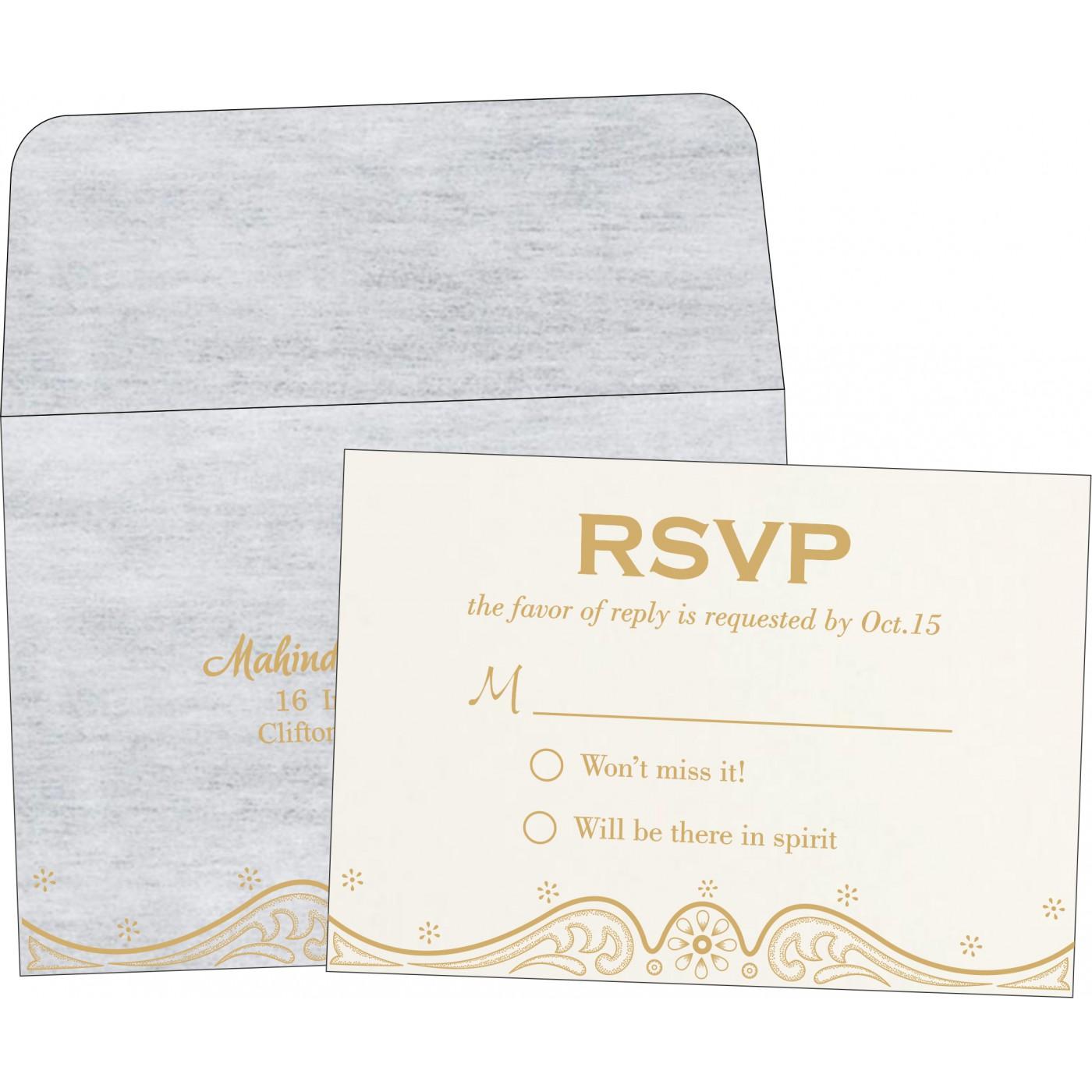 RSVP Cards - RSVP-8221G