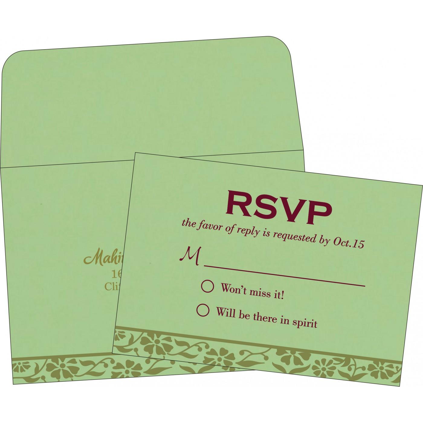 RSVP Cards - RSVP-8222G