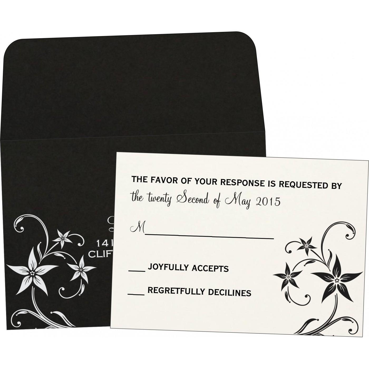 RSVP Cards - RSVP-8225A