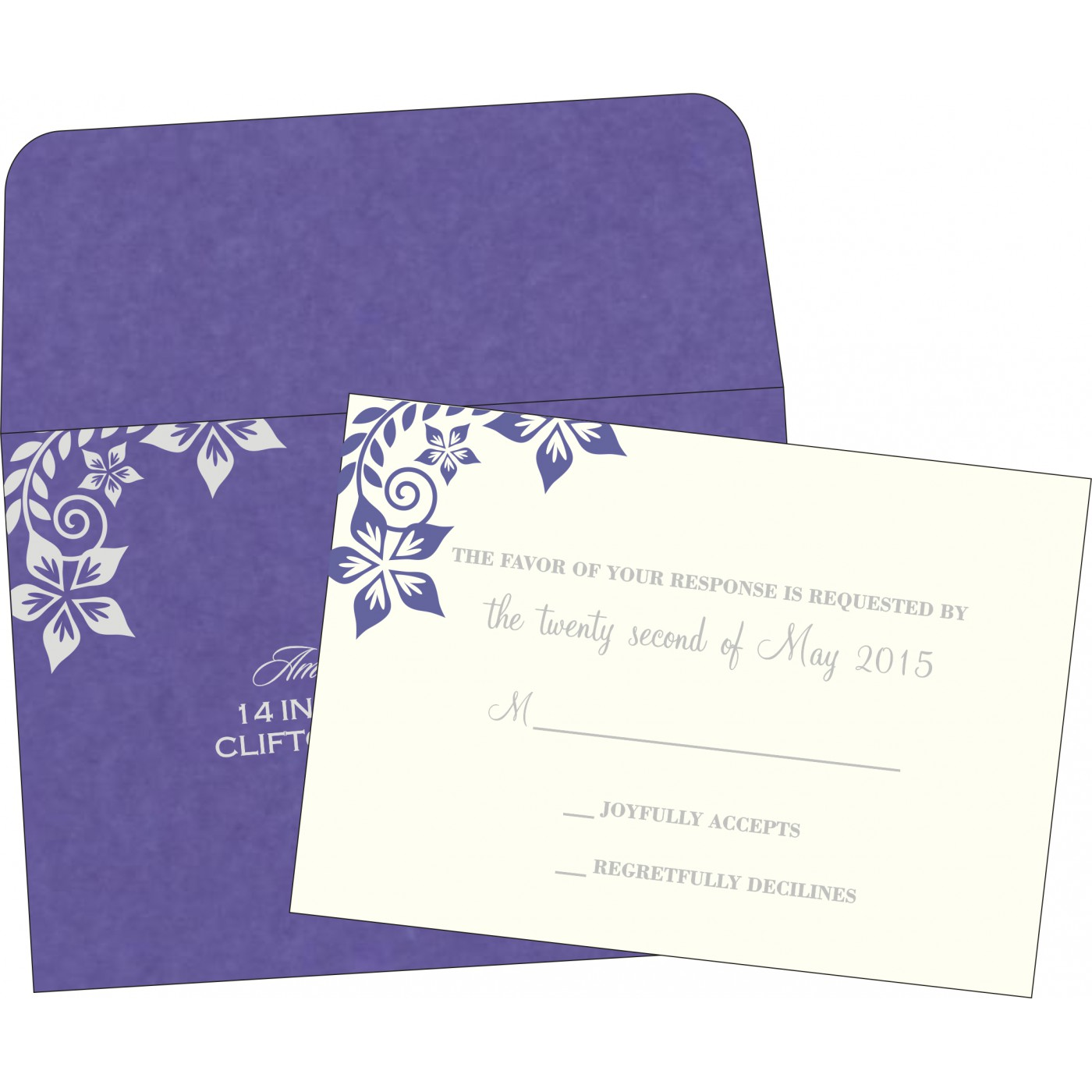 RSVP Cards - RSVP-8240B