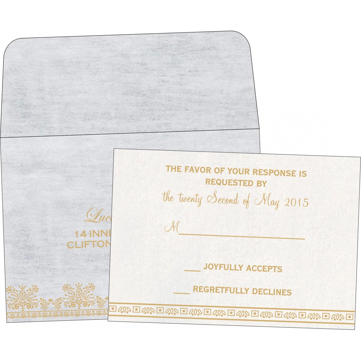 RSVP Cards - RSVP-8241A