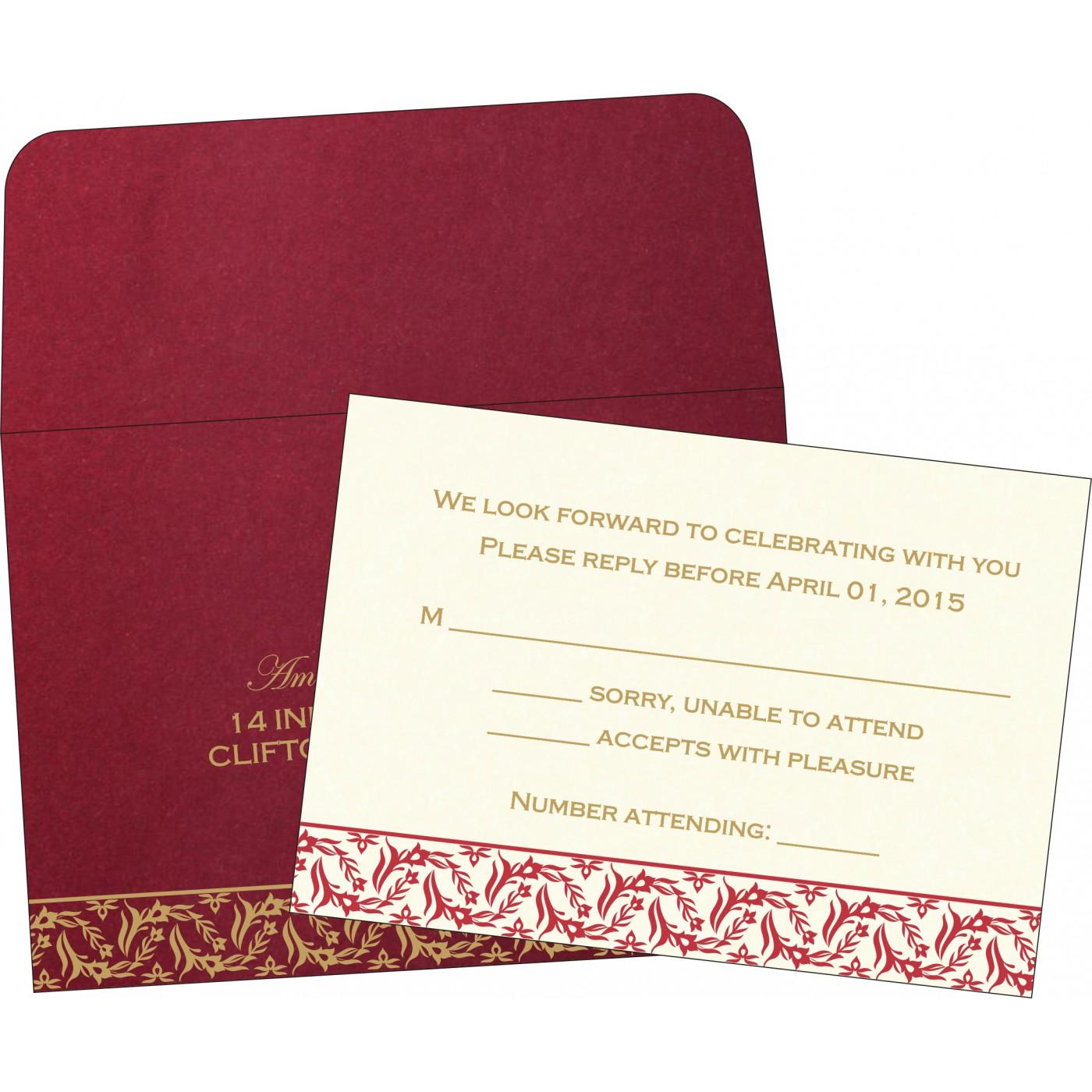RSVP Cards - RSVP-8249L