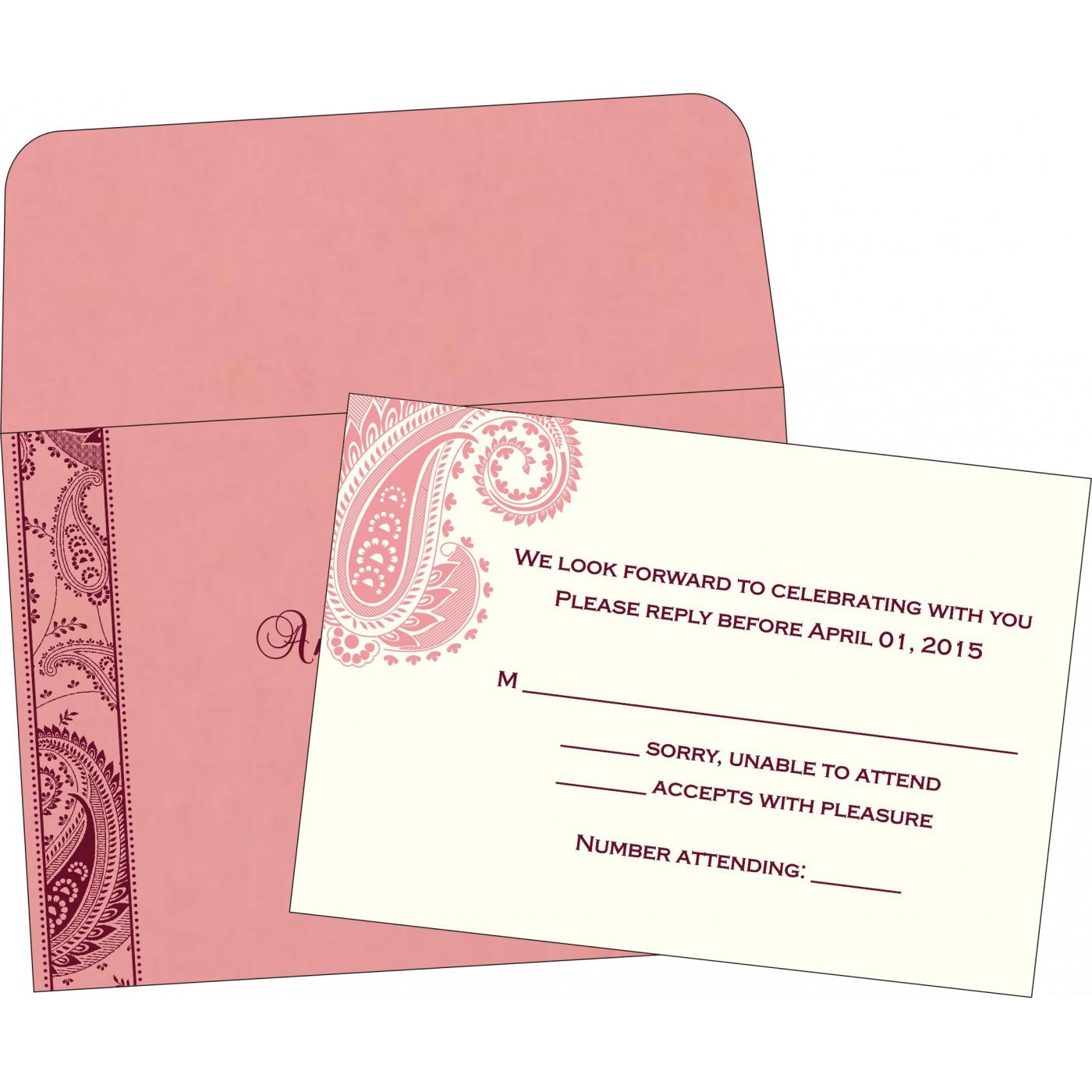 RSVP Cards - RSVP-8250F