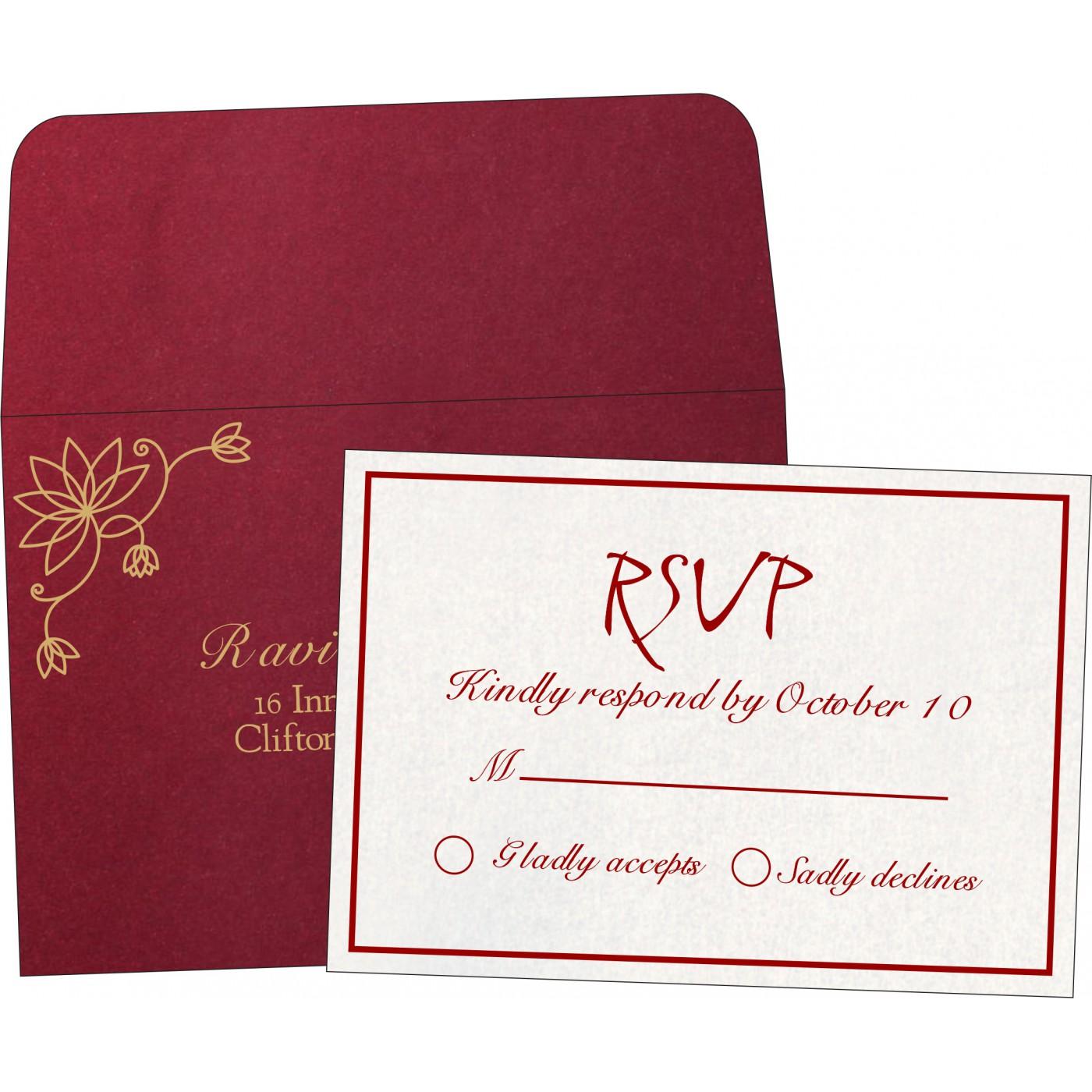 RSVP Cards - RSVP-8251L