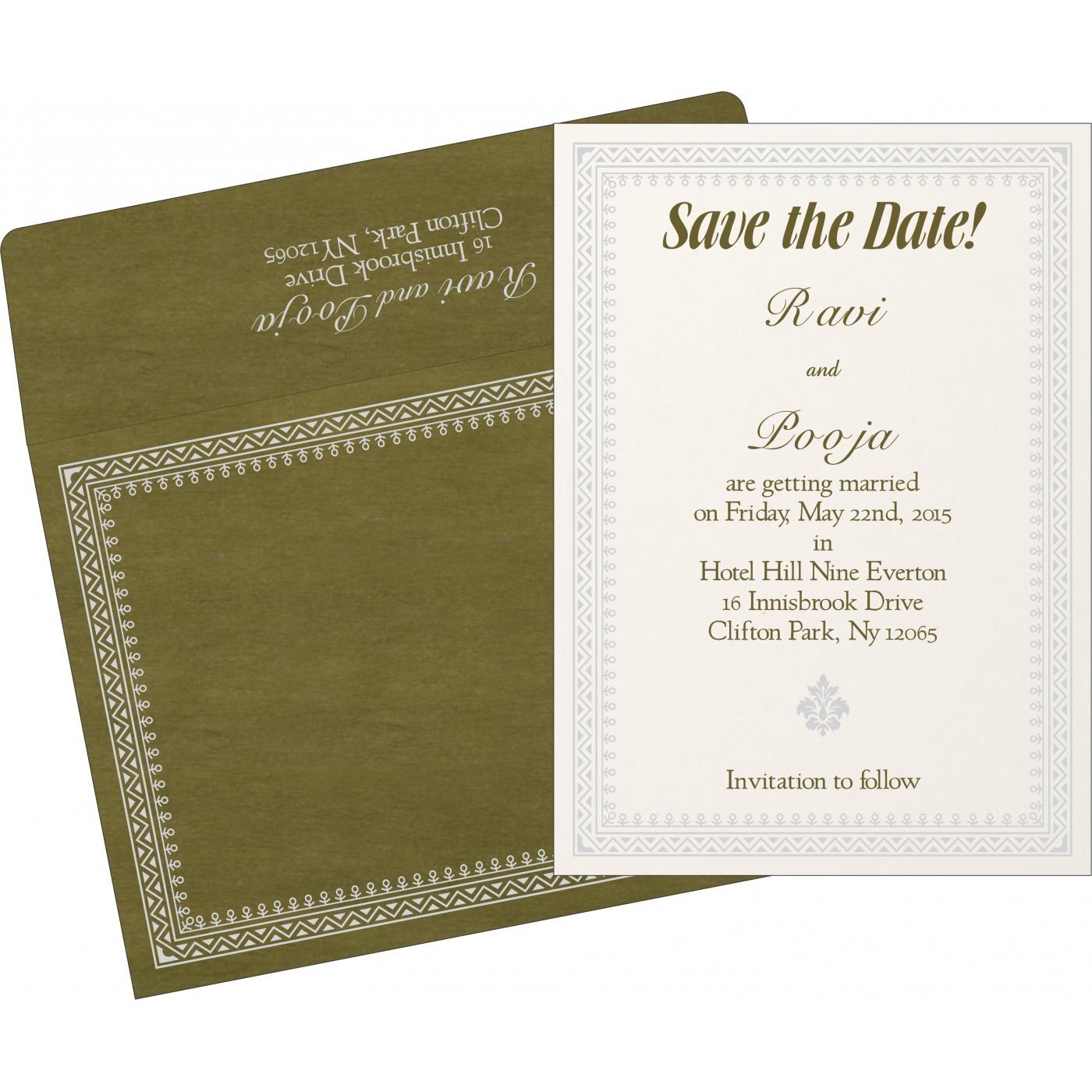 Save The Date - STD-8205Q