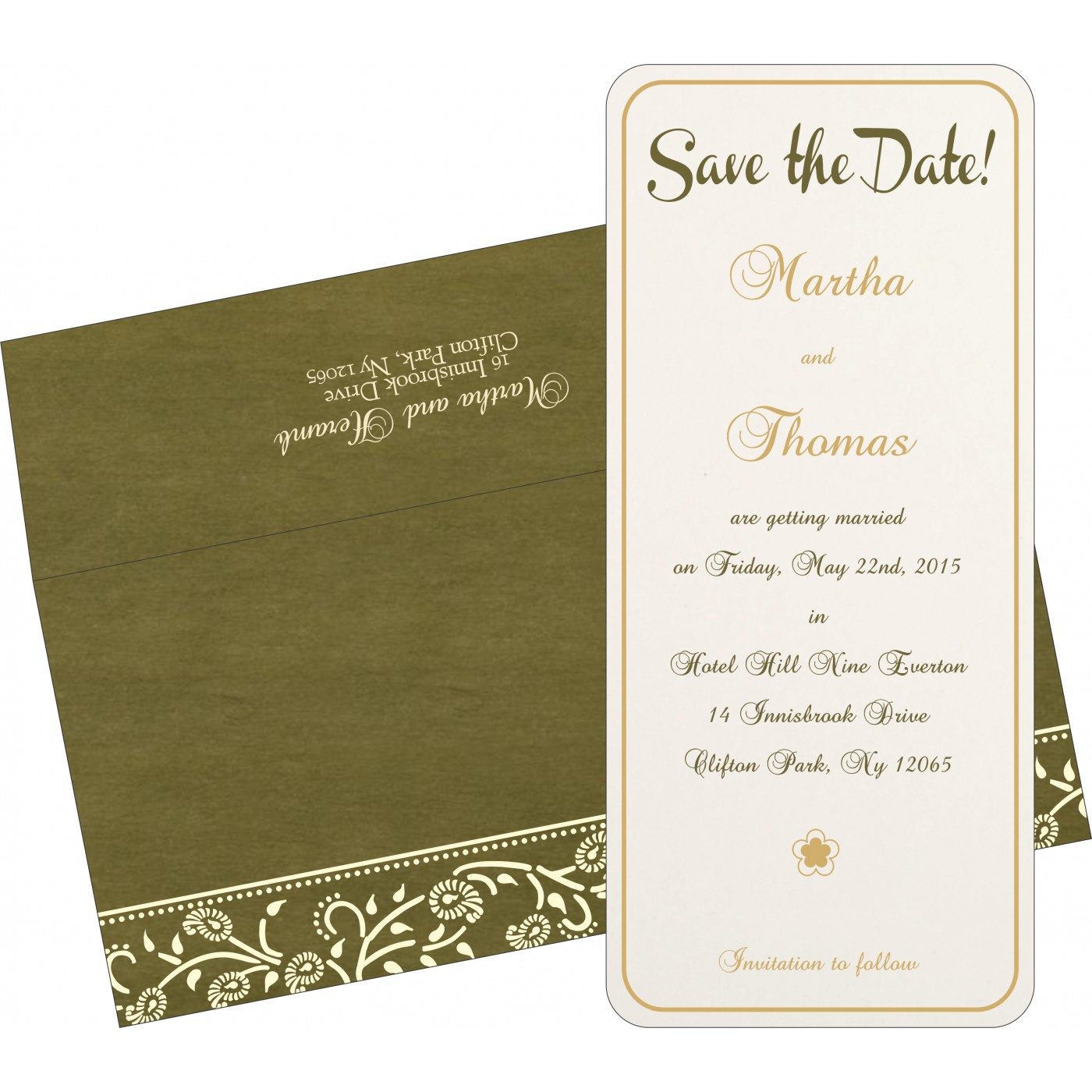 Save The Date - STD-8206D