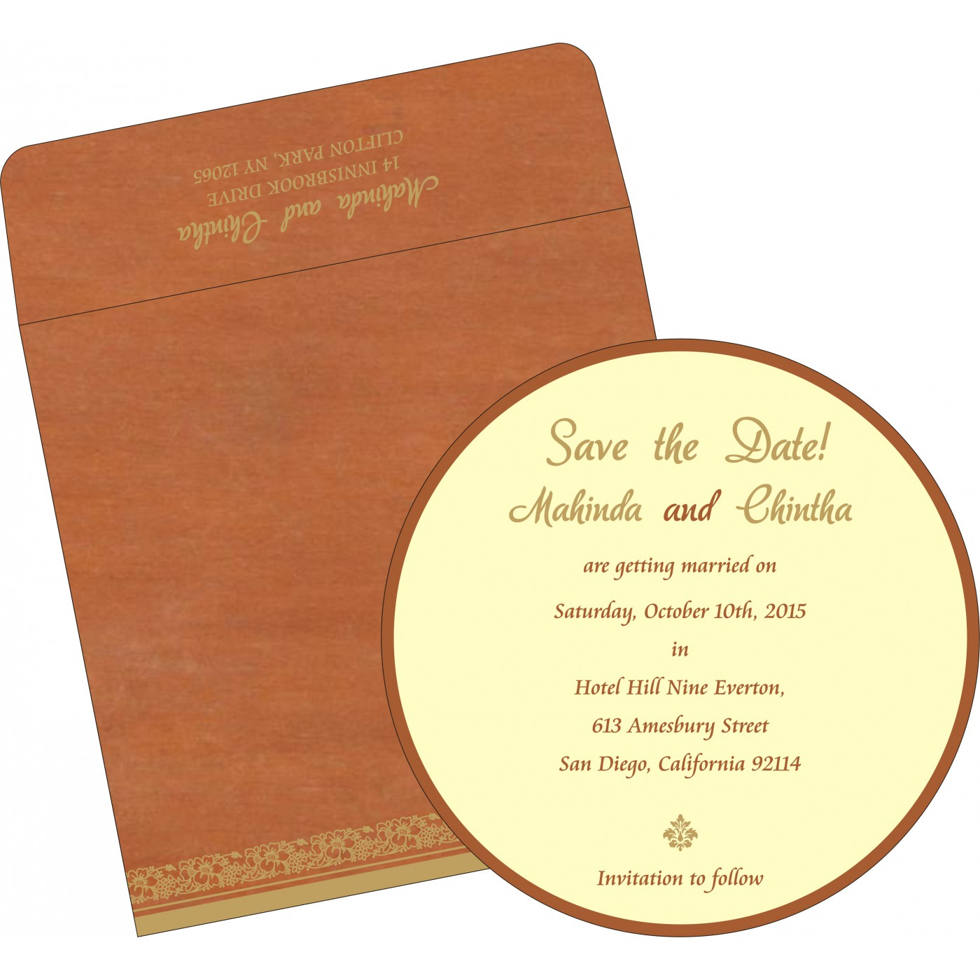 Save The Date - STD-8207N