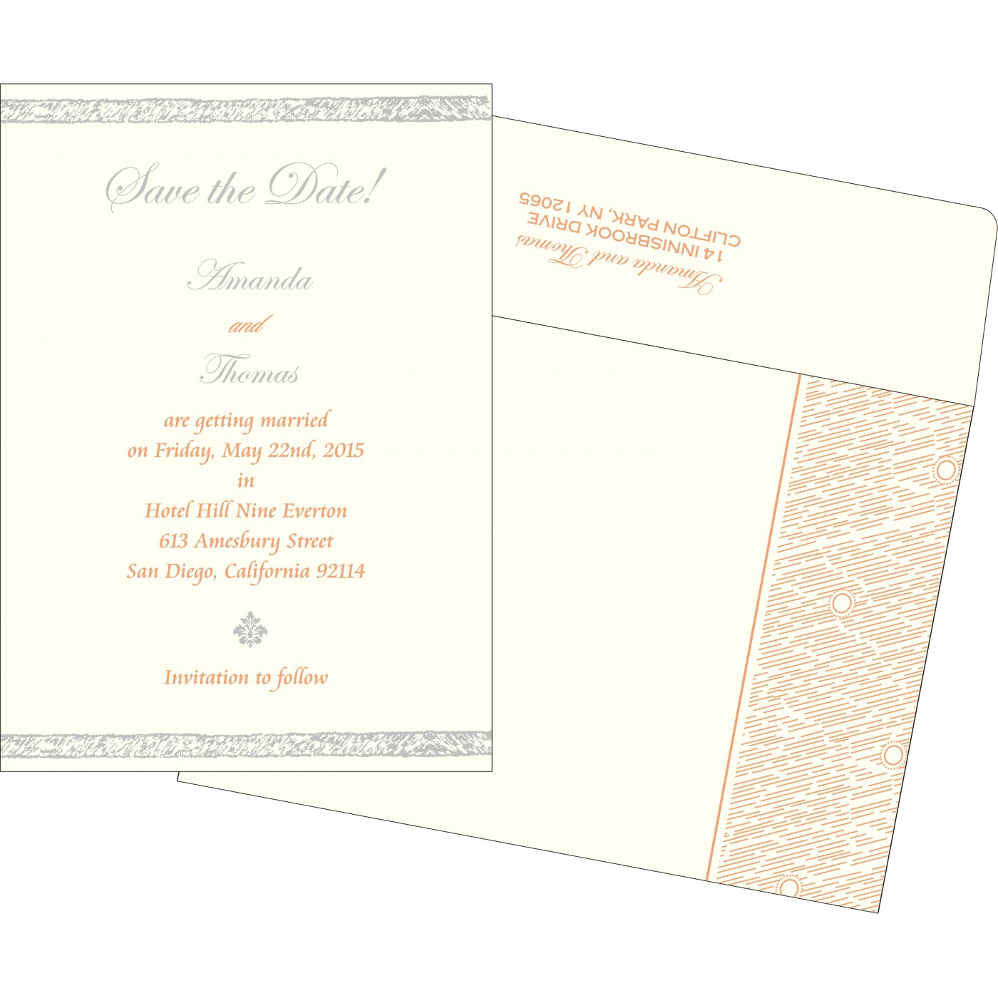 Save The Date - STD-8209A