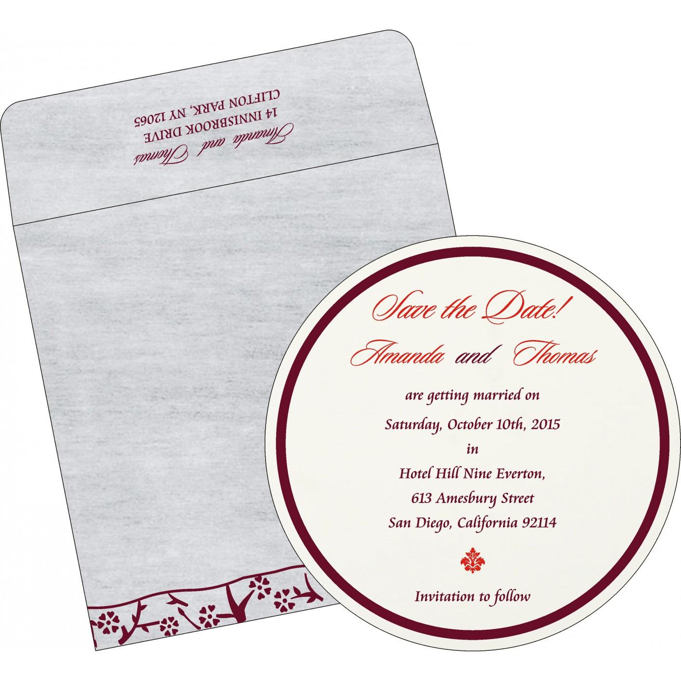Save The Date - STD-8216B