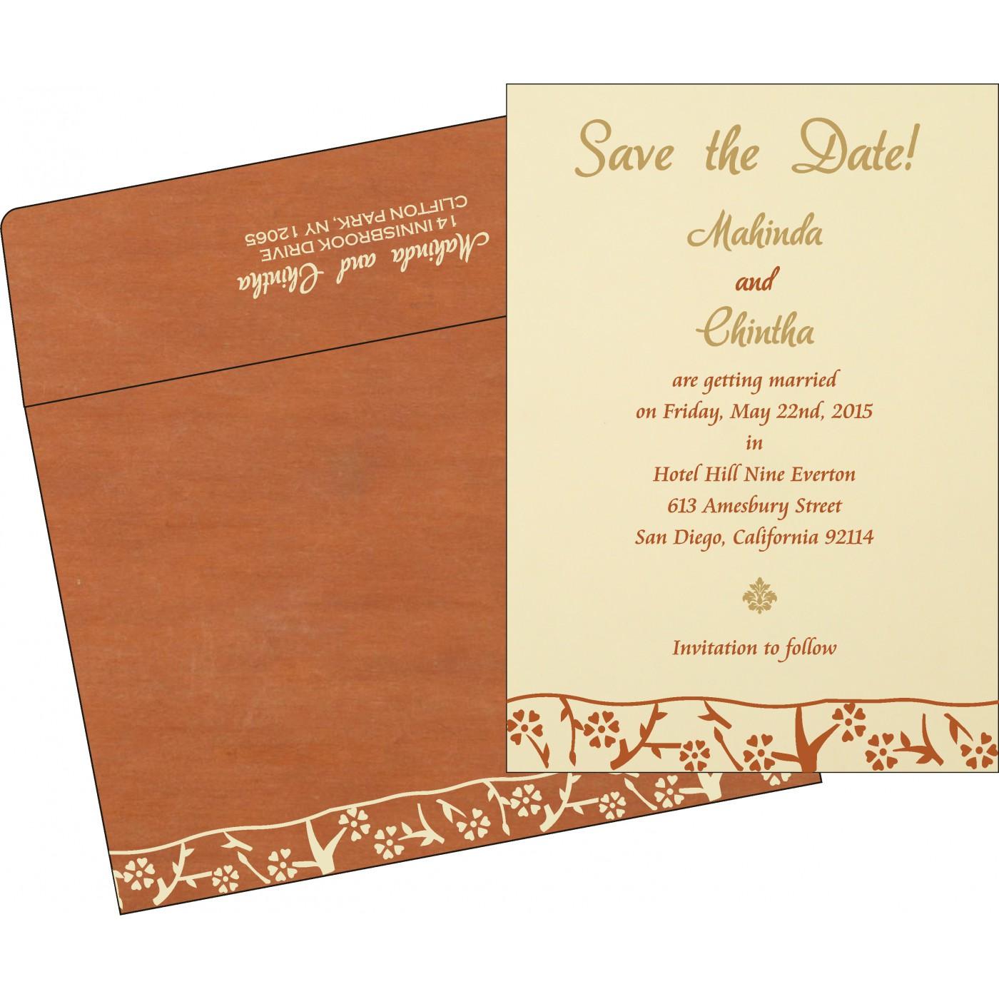 Save The Date - STD-8216E