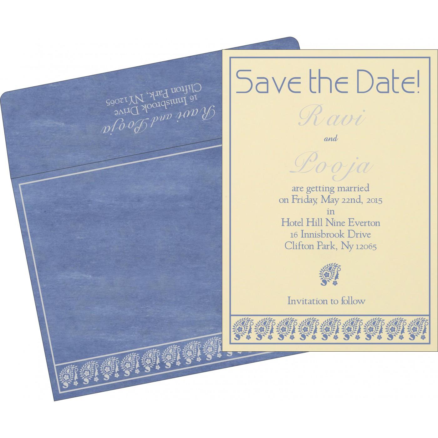 Save The Date - STD-8218K