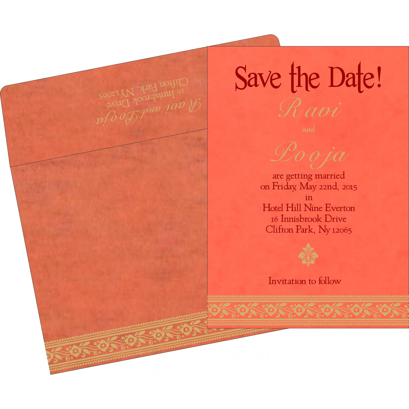 Save The Date - STD-8220N