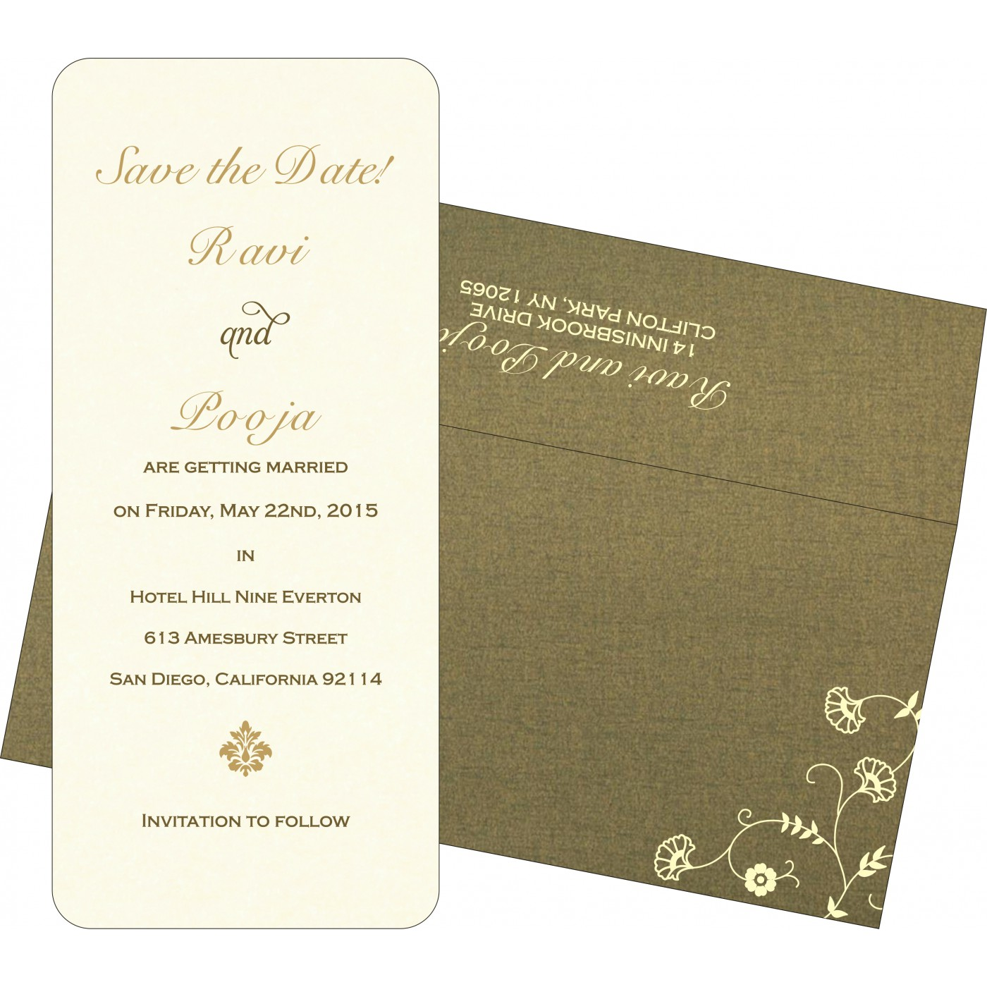 Save The Date - STD-8248D
