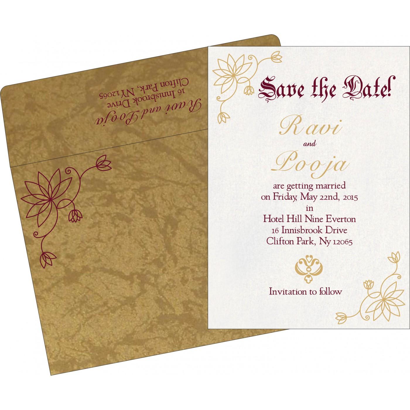 Save The Date - STD-8251E
