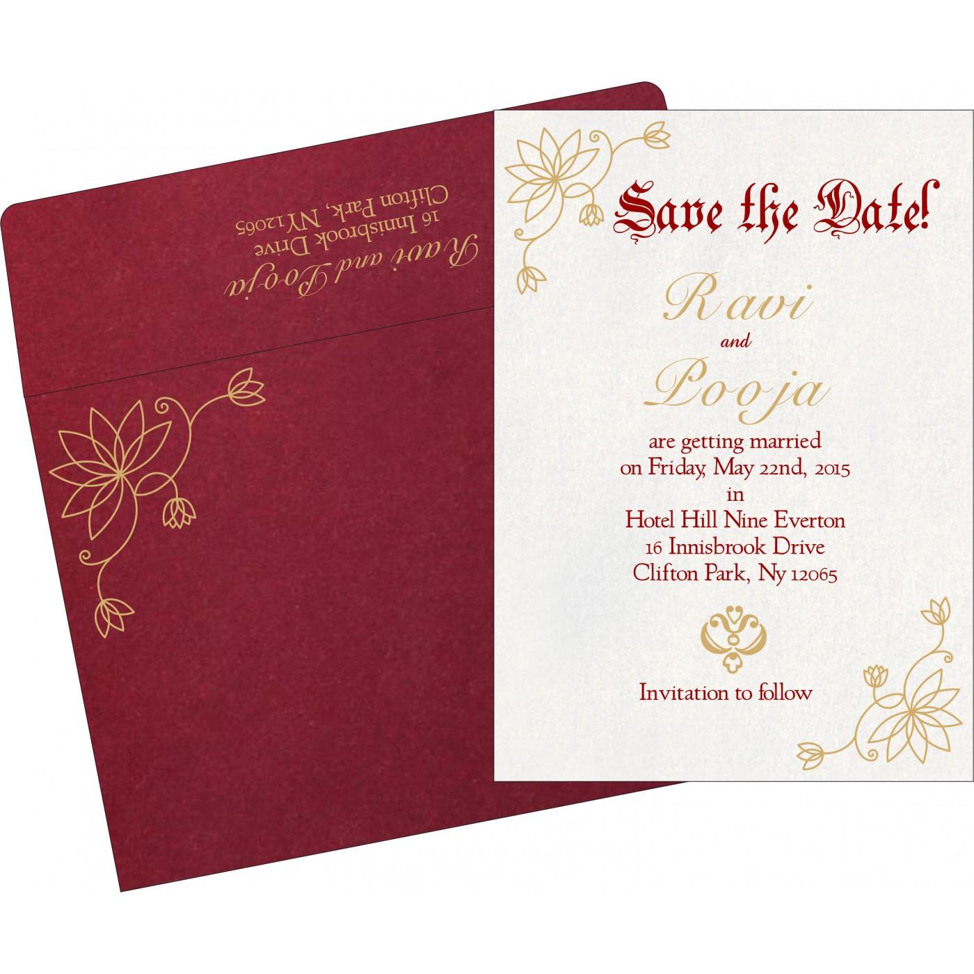 Save The Date - STD-8251L