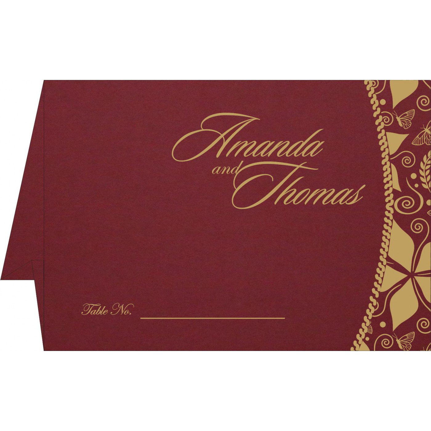 Table Cards - TC-1169