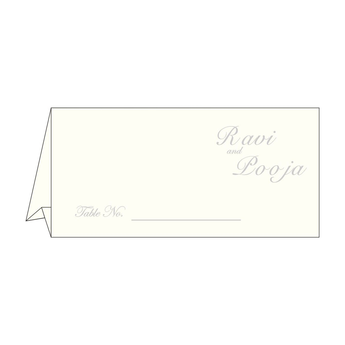 Table Cards - TC-1325