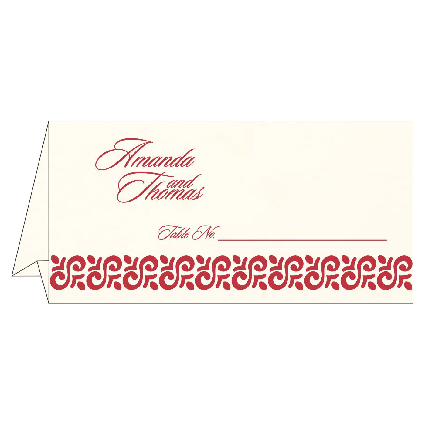 Table Cards - TC-1411