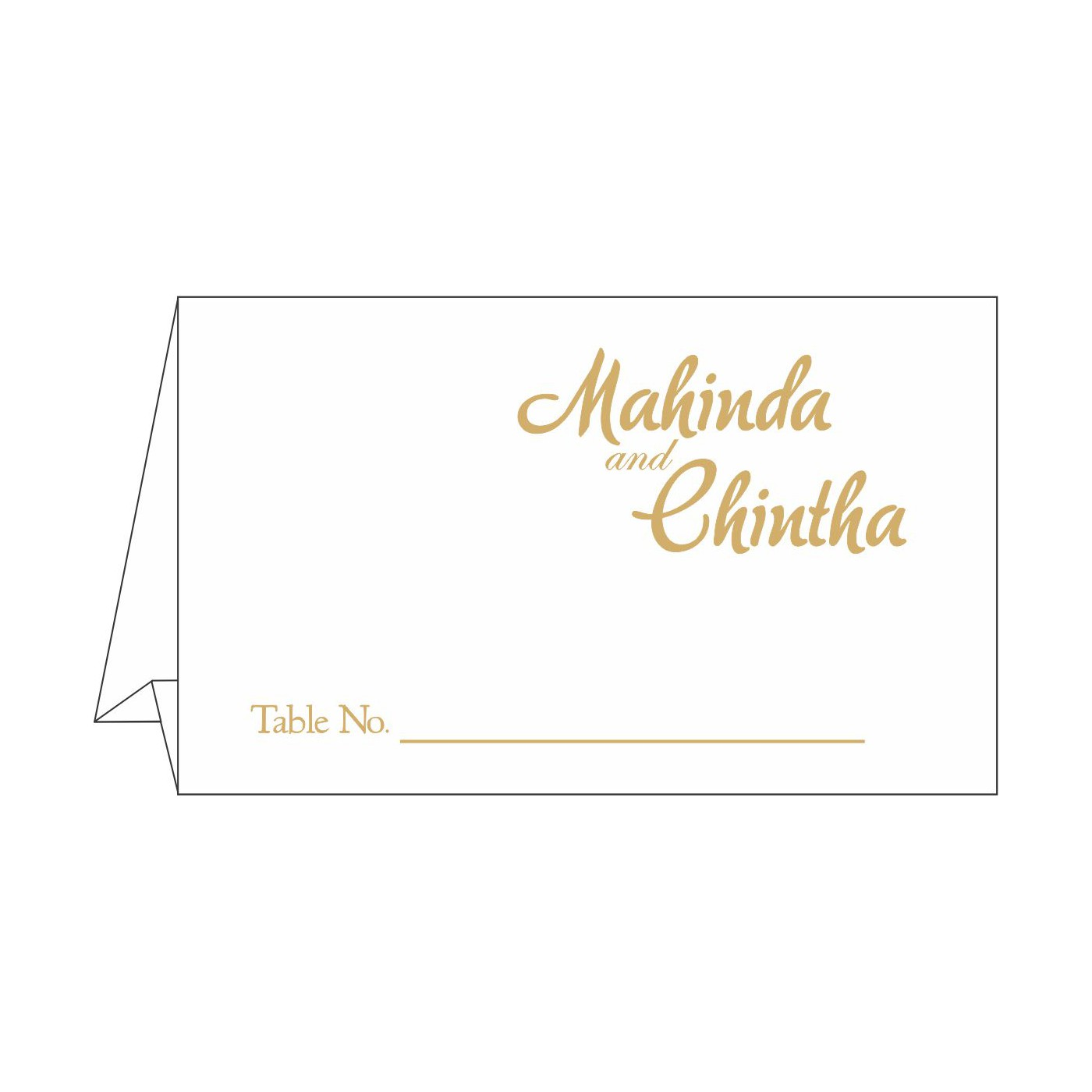 Table Cards - TC-1495