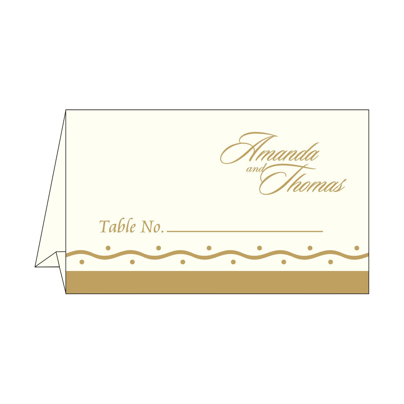Table Cards - TC-2103