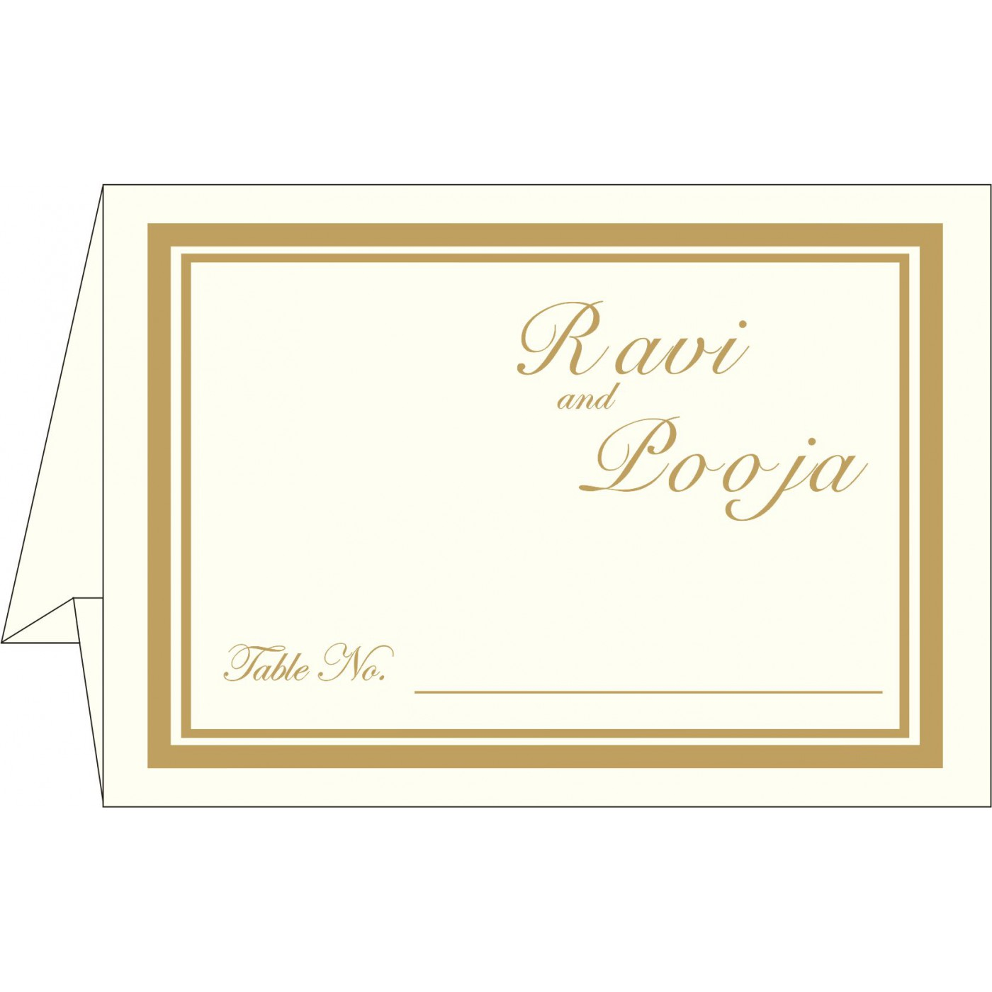 Table Cards - TC-2115