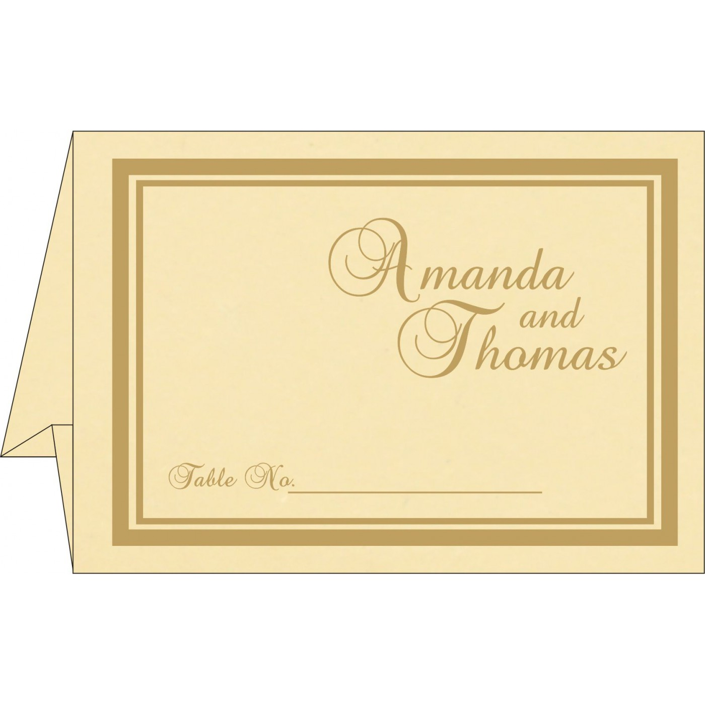 Table Cards - TC-2177