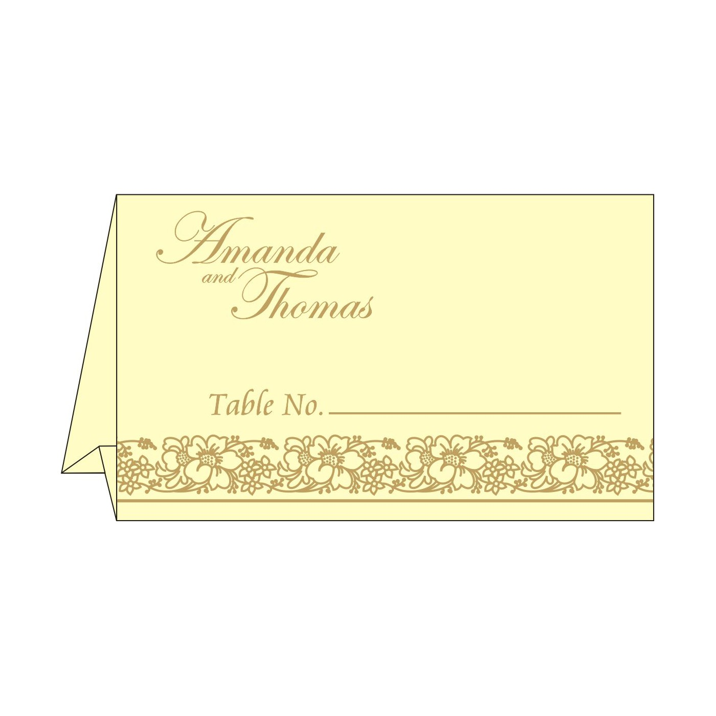 Table Cards - TC-8207F