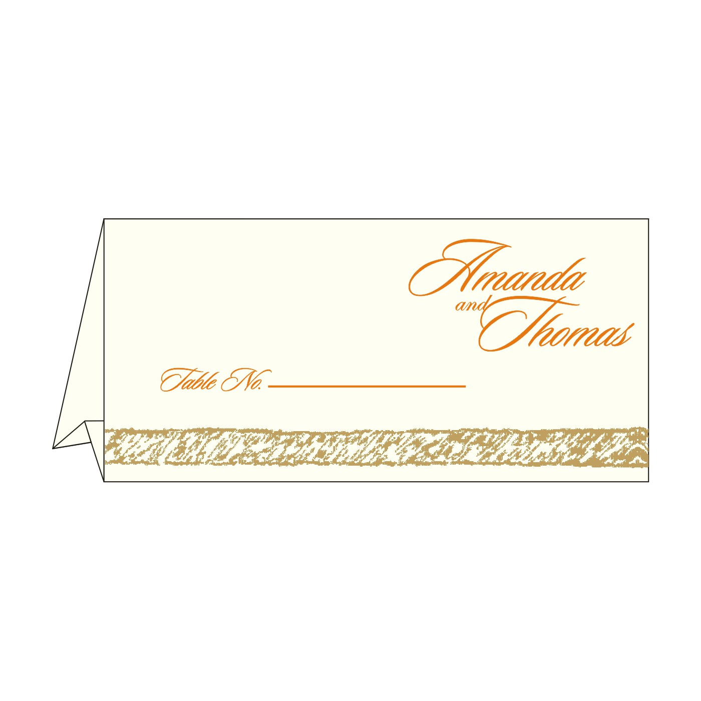 Table Cards - TC-8209M
